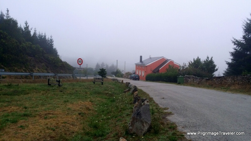 Padrón Ahead Through the Mist, Galicia, Spain