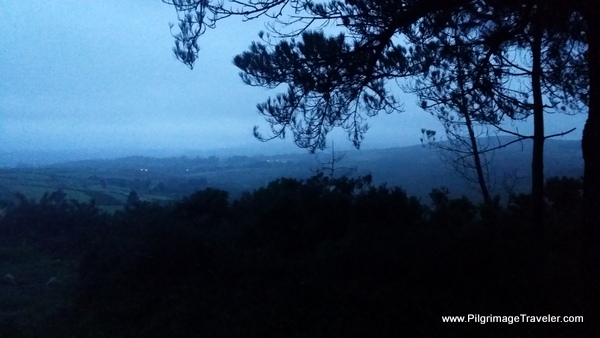 View of the Countryside at dawn