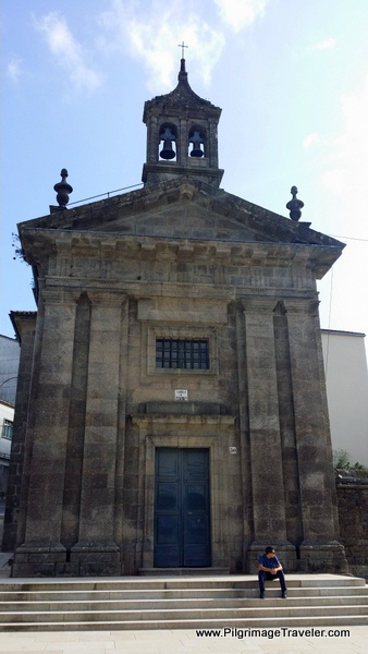 Church Along the Way, Camino Ingles, Santiago de Compostela