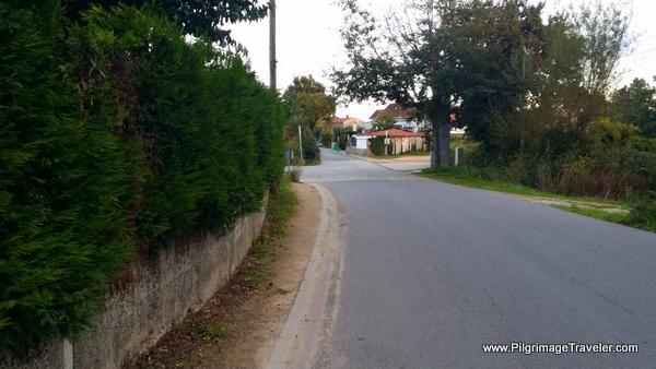 Intersection Ahead, San Marcos, Camino Frances