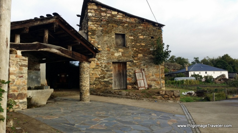 Old Buildings in Peñafonte, Asturias, Spain