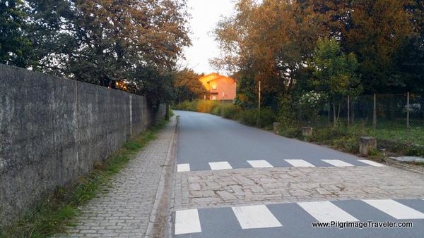 Crosswalk and Sunlight