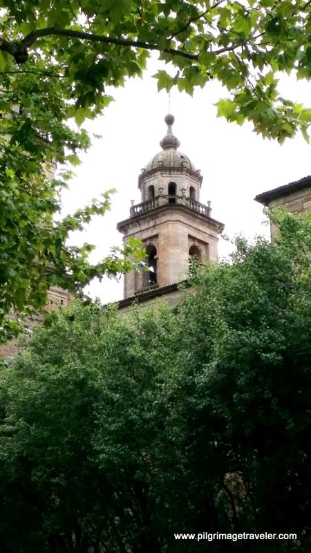 Church of San Francisco Steeple, Santiago de Compostela, Galicia, Spain