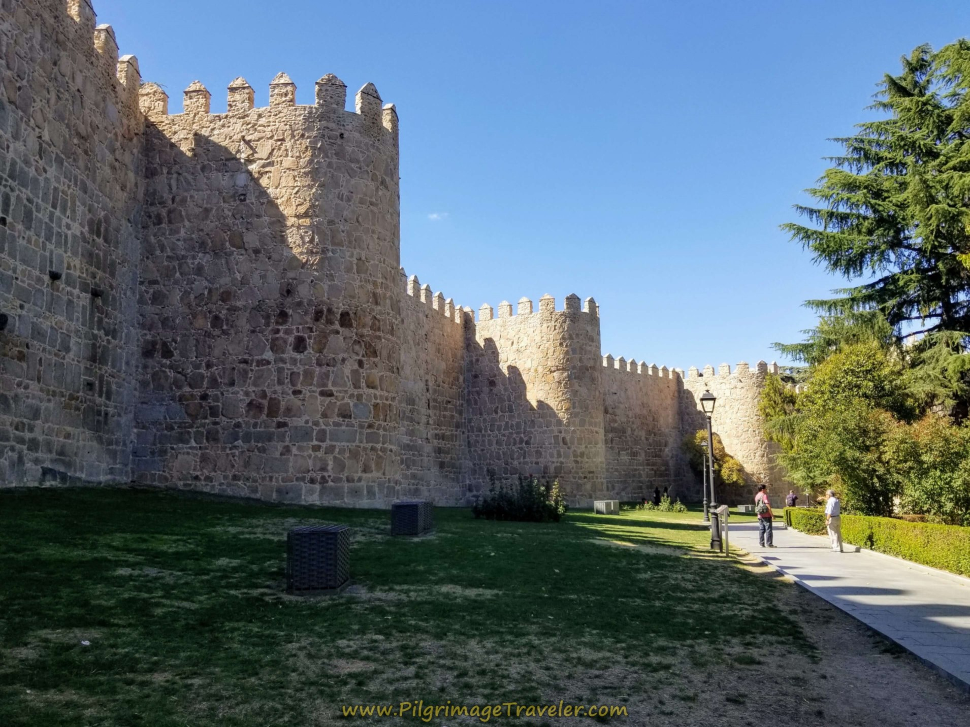 The East Walls of Ávila
