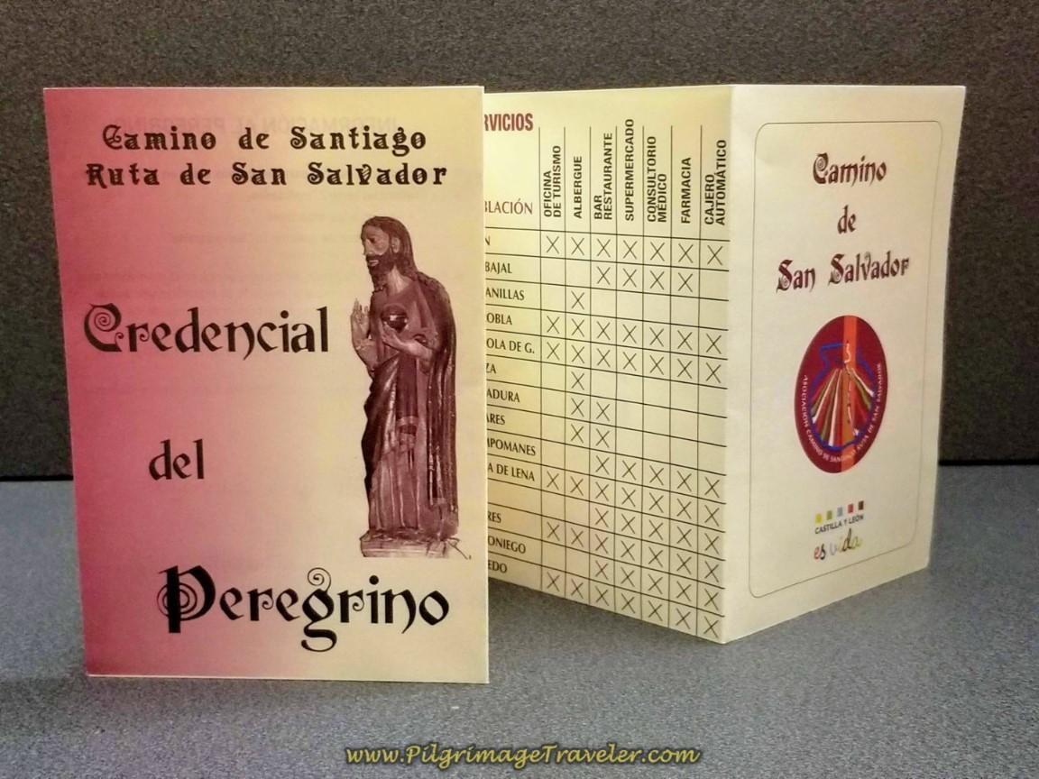 Camino de San Salvador Credential