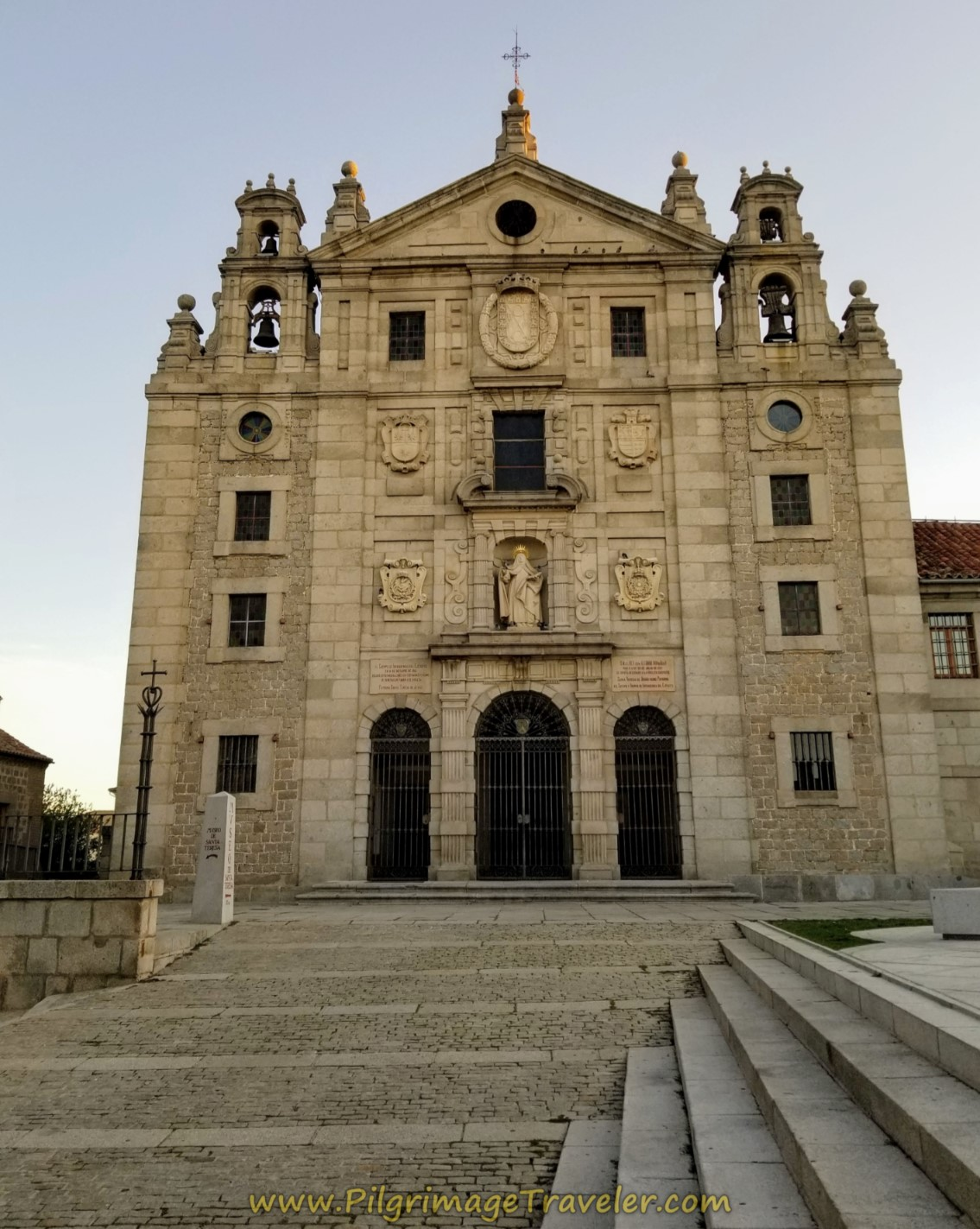 Convento de Santa Teresa, the official start of the Caminos Teresianos in Ávila.