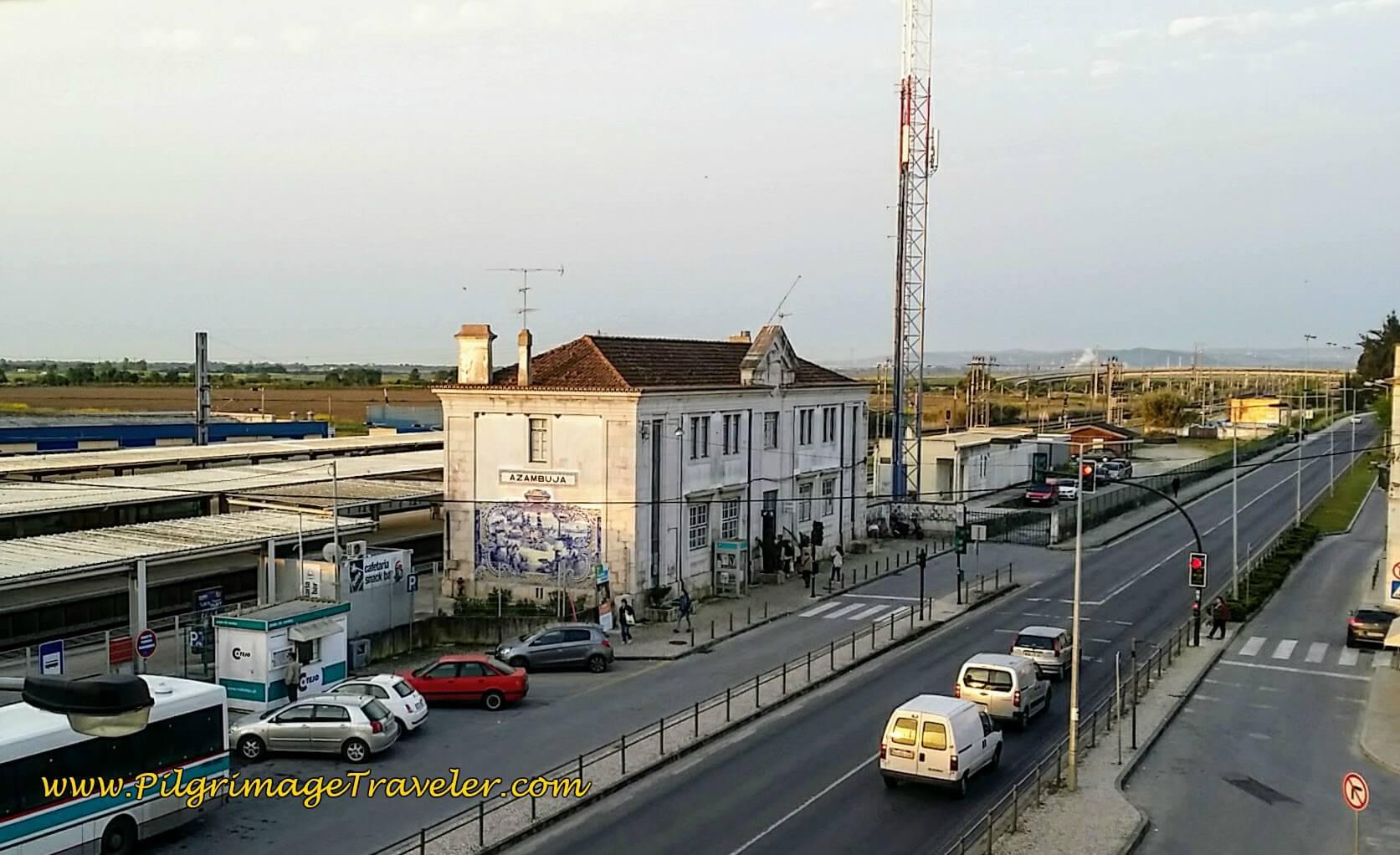 Azambuja Train Station, Portugal
