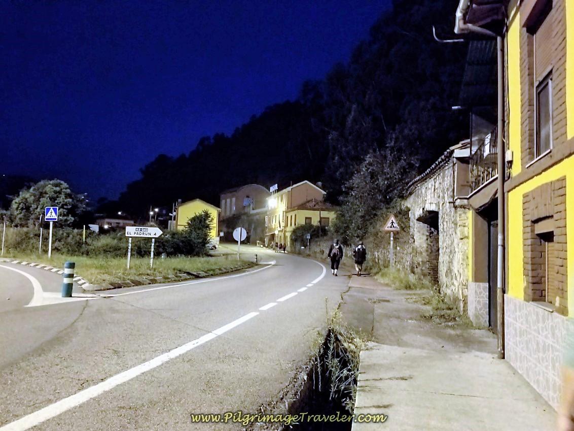 Leaving La Peña at Daybreak