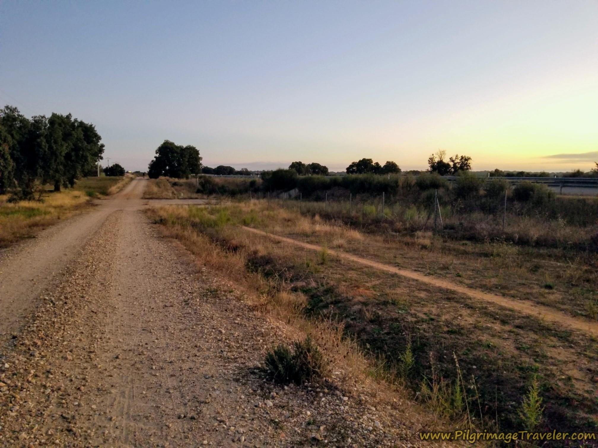 Sunrise over Cañedino
