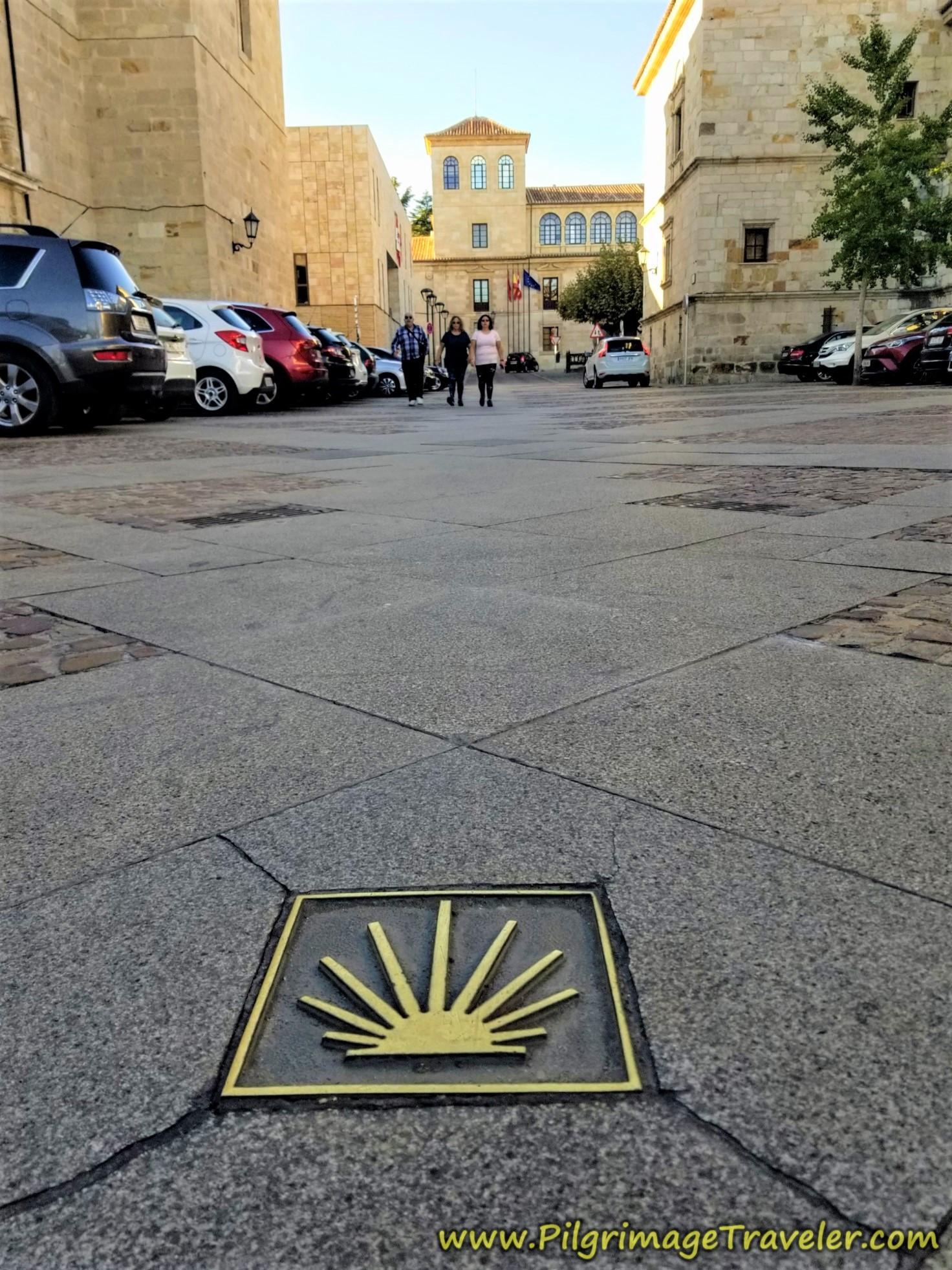 Shell Waymark Plaza de Claudio Moyano, Zamora
