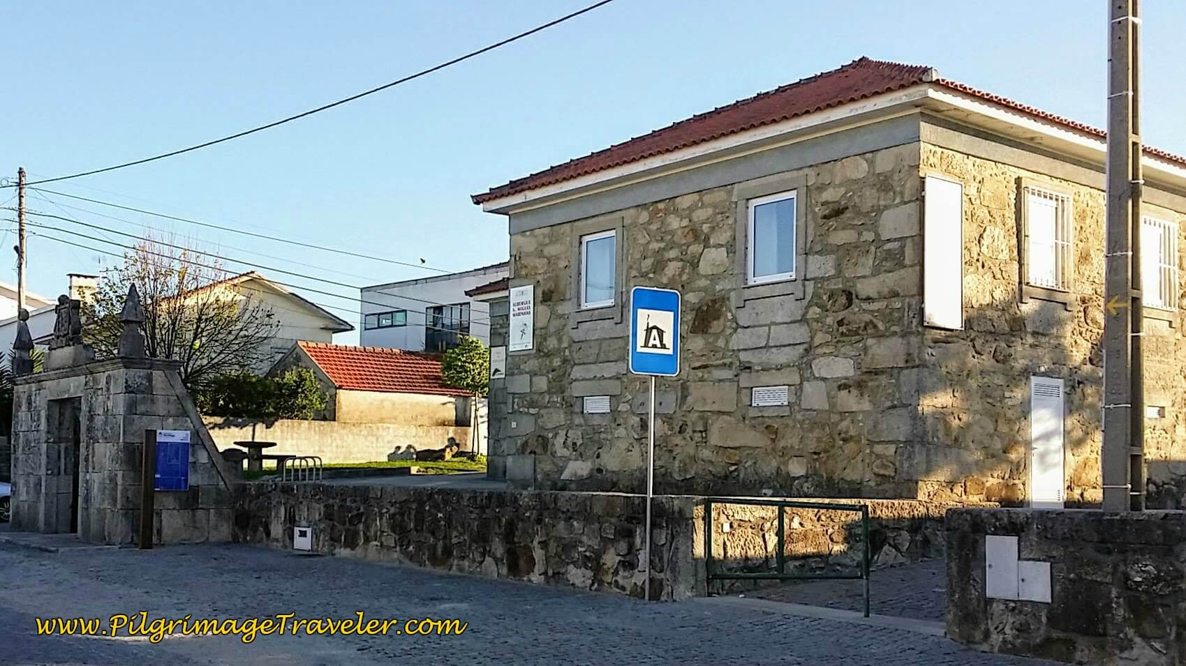 Albergue São Miguel in Marinhas on day seventeen of the Camino Portugués