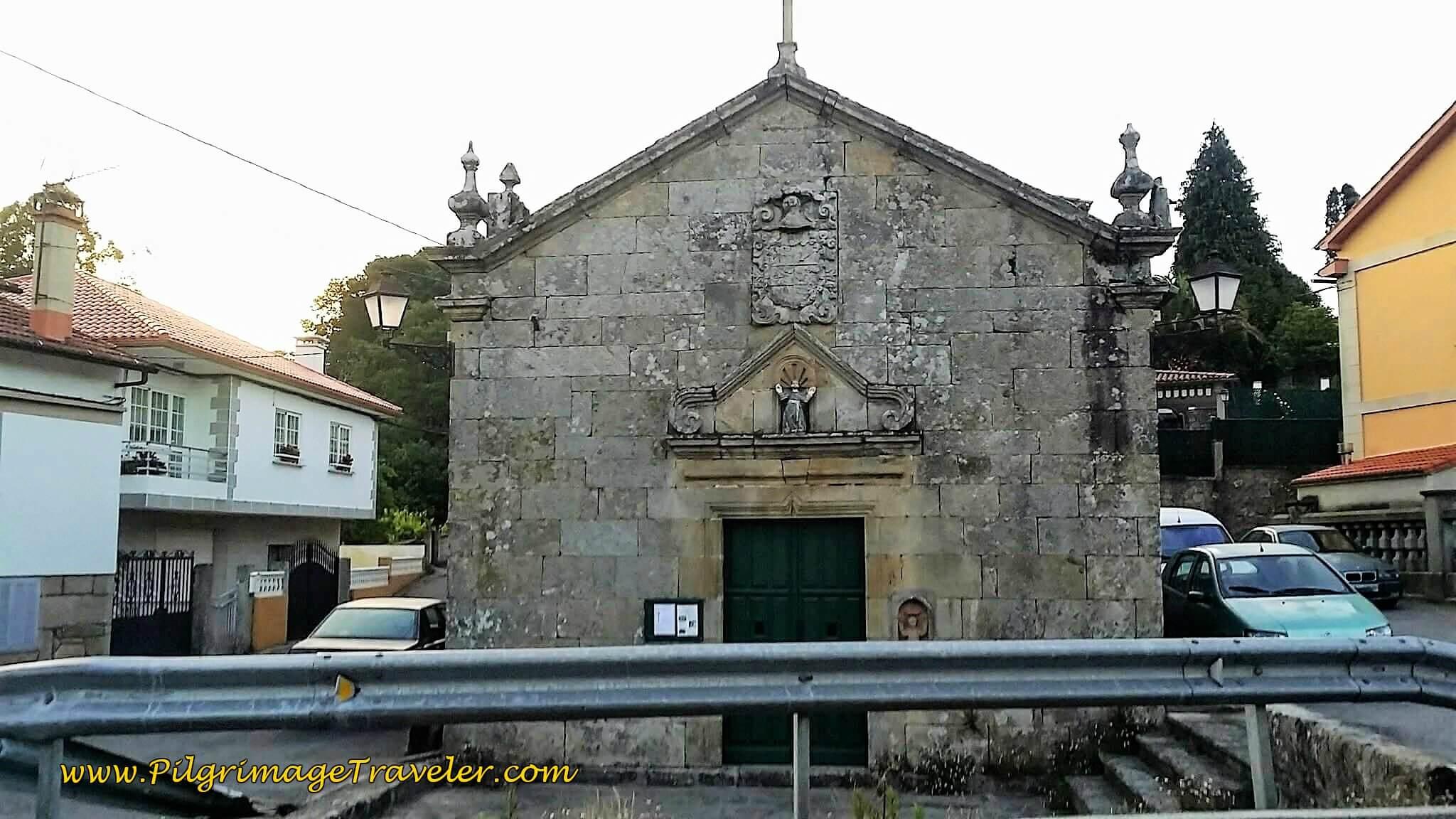 Capela in San Caetaño on day twenty-three, Camino Portugués