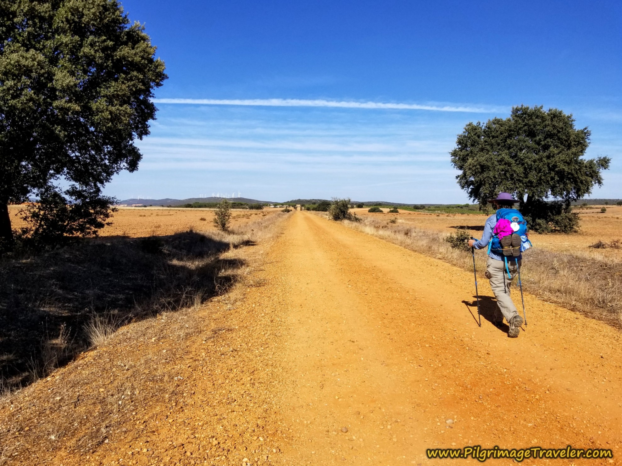 Endless Gravel Lanes Initially on the Camino Sanabrés