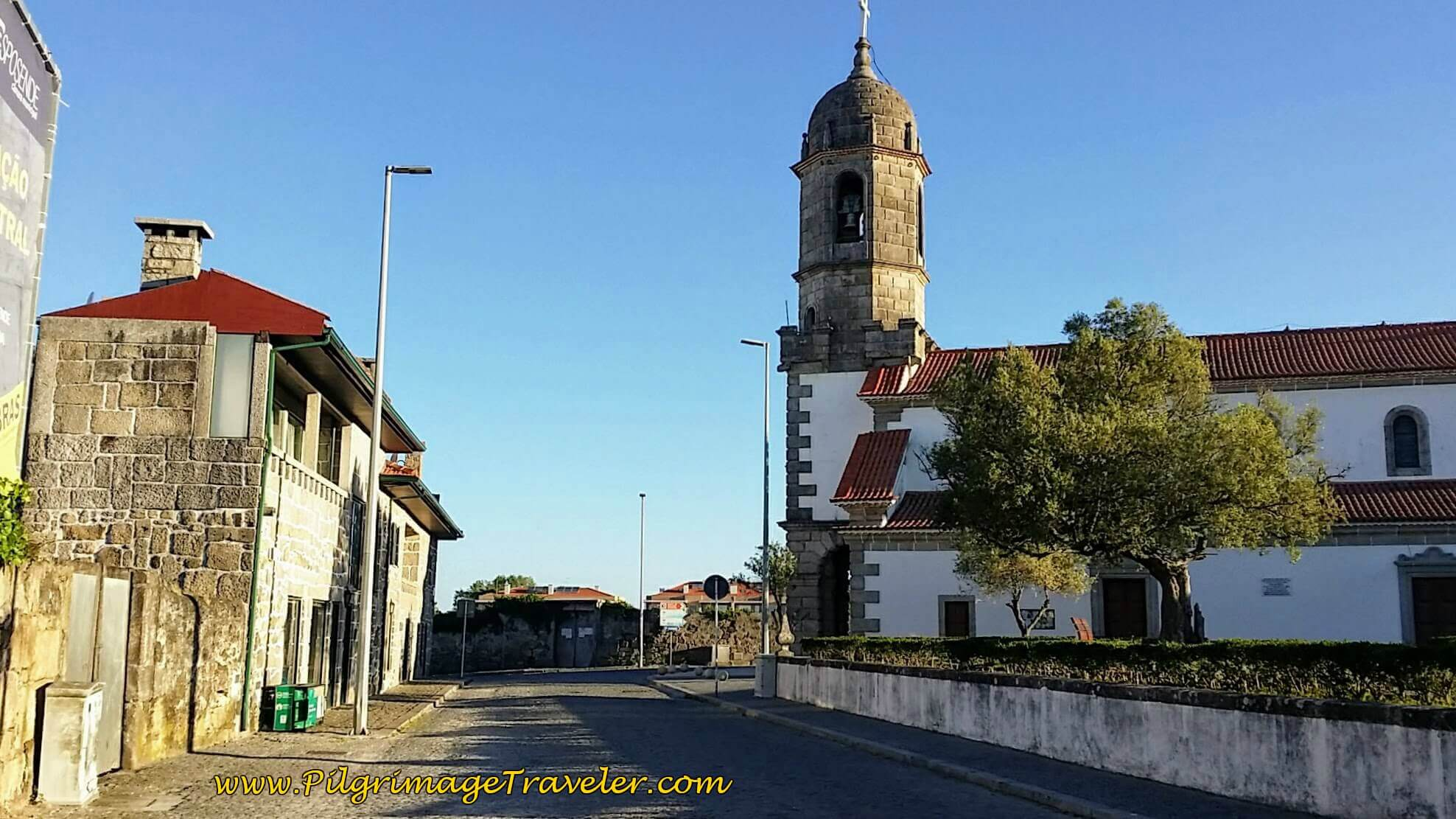 Igreja das Marinhas on day Seventeen of the Camino Portugués