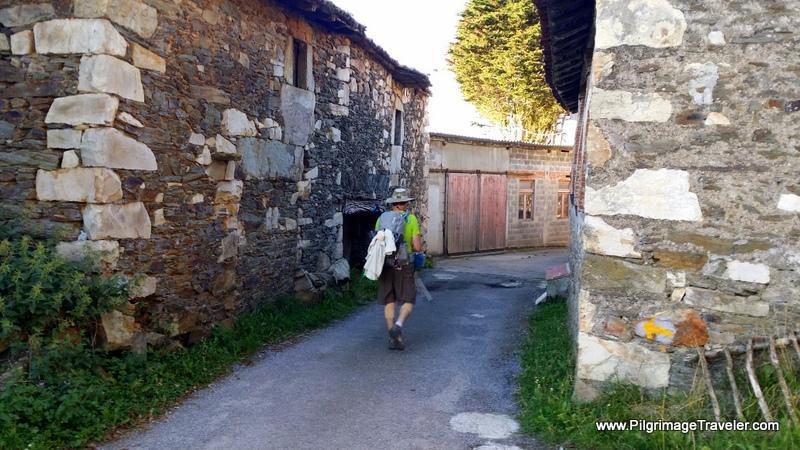 Walking Through Bedures on the Camino Primitivo, Asturias, Spain
