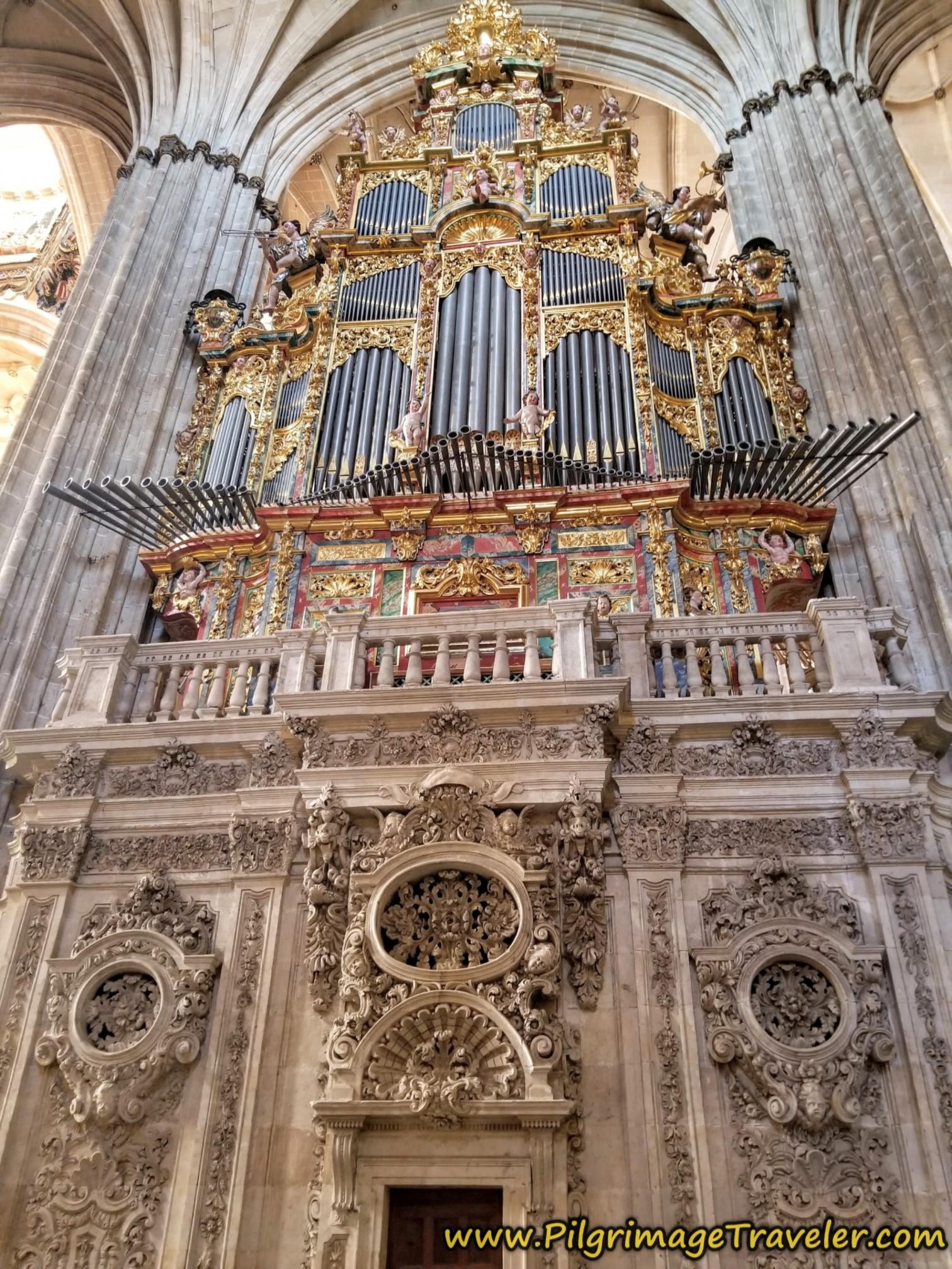 Organo Catedral Nueva de Salamanca
