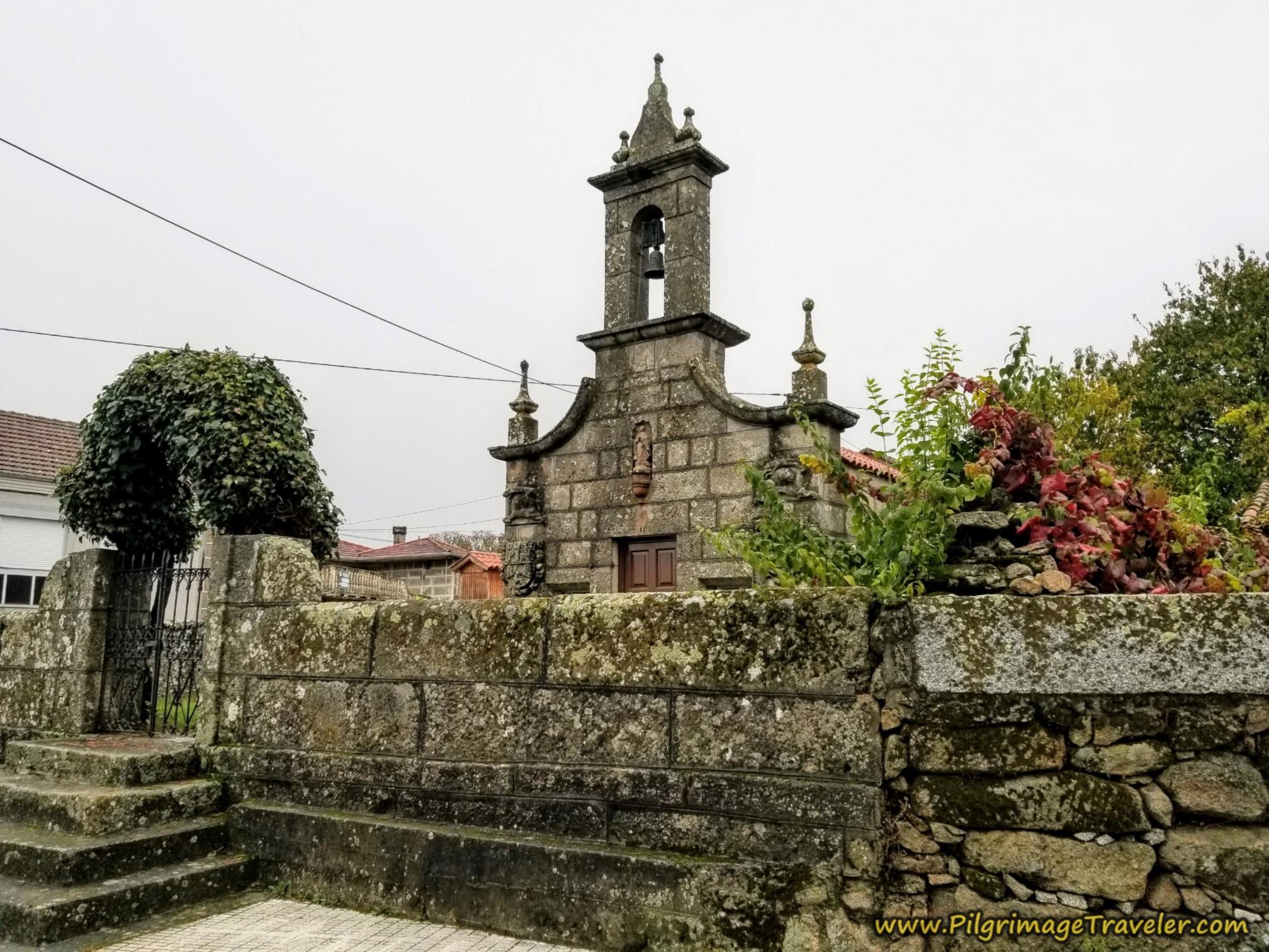 Capela Virgen del Camino, A Pousa, Camino Sanabrés, Xunqueira de Ambía to Ourense