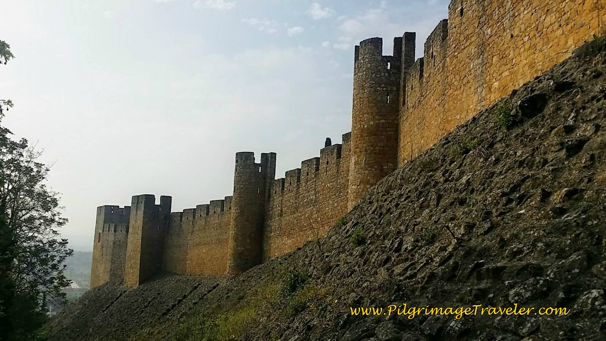 South Fortress Wall, Knight's Templar Castle, Tomar