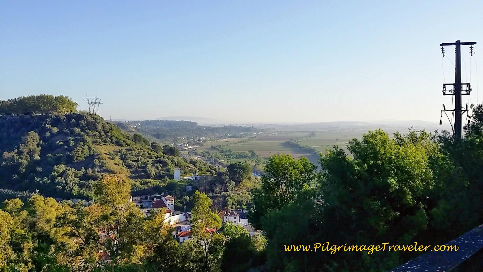 Valley Views from the Hilltop of Santarém