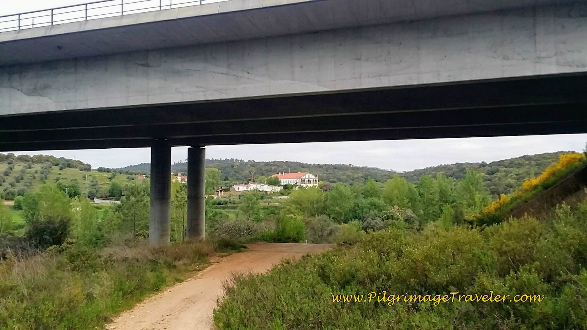 Walk Under IC-9 on the Portuguese Way