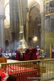 The Swinging of the Botafumerio at the Pilgrim's Mass