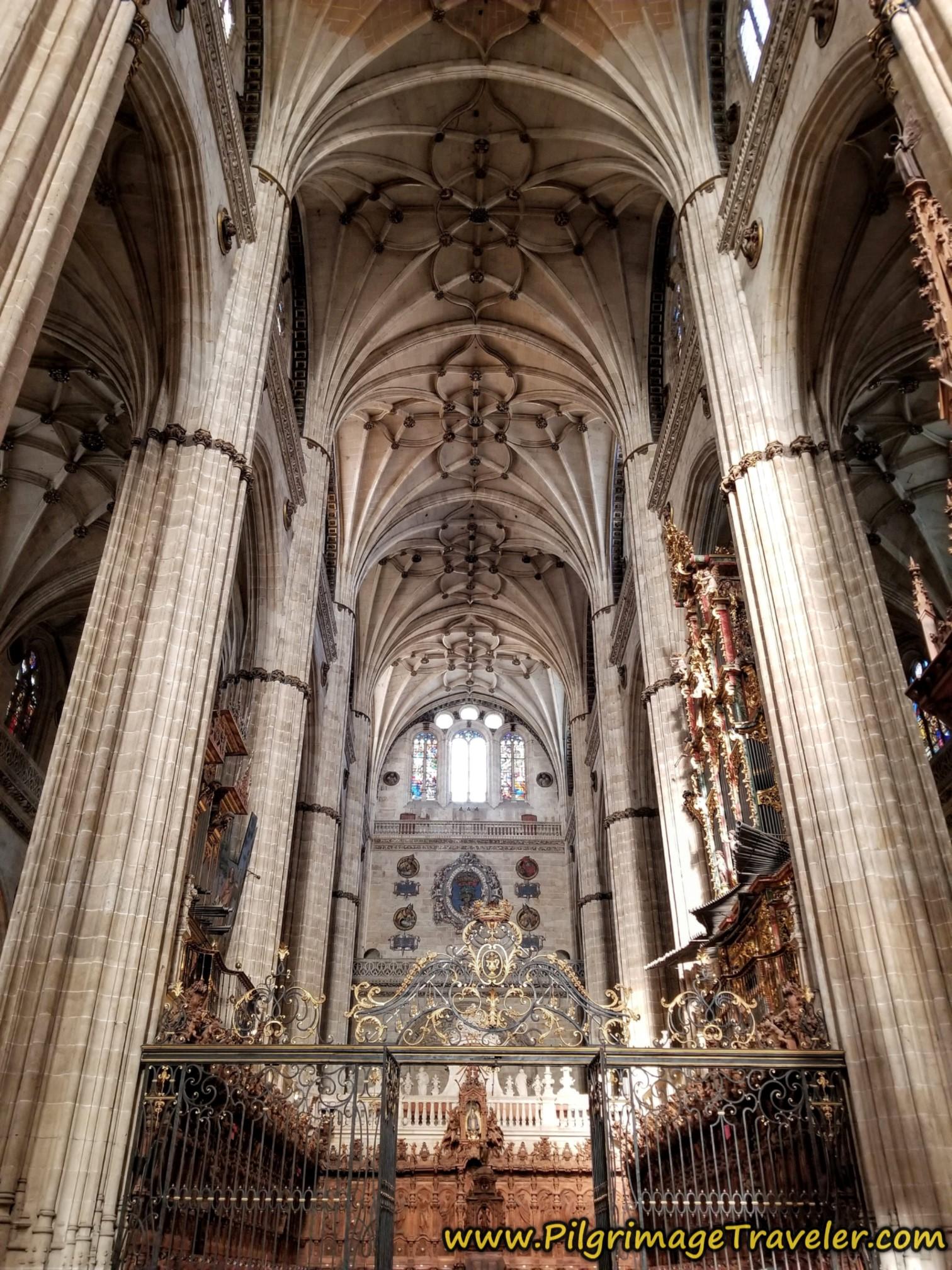 Choir, New Cathedral of Salamanca