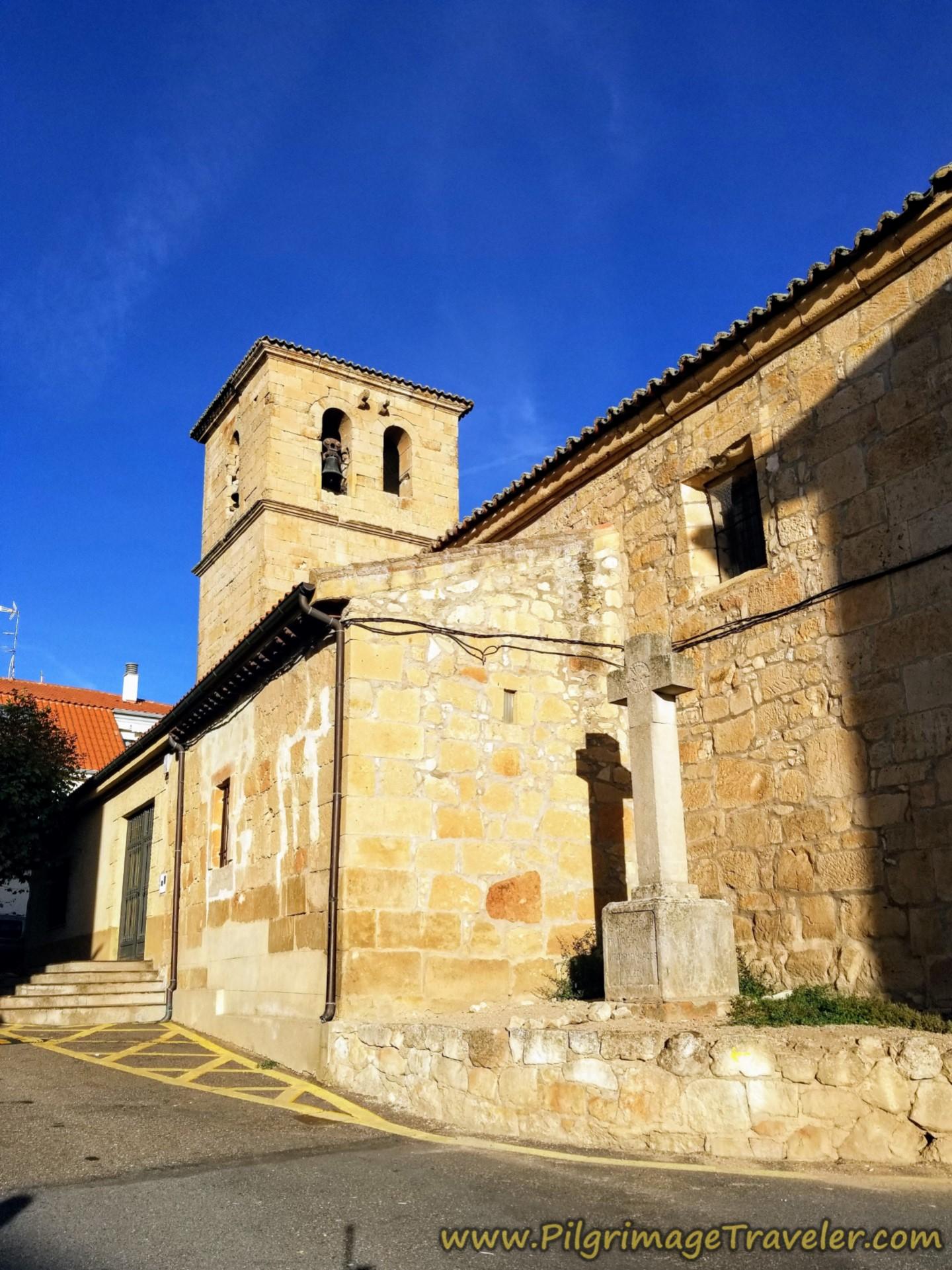 Iglesia Parroquial de Santa Cruz, Aldeaseca de la Armuña