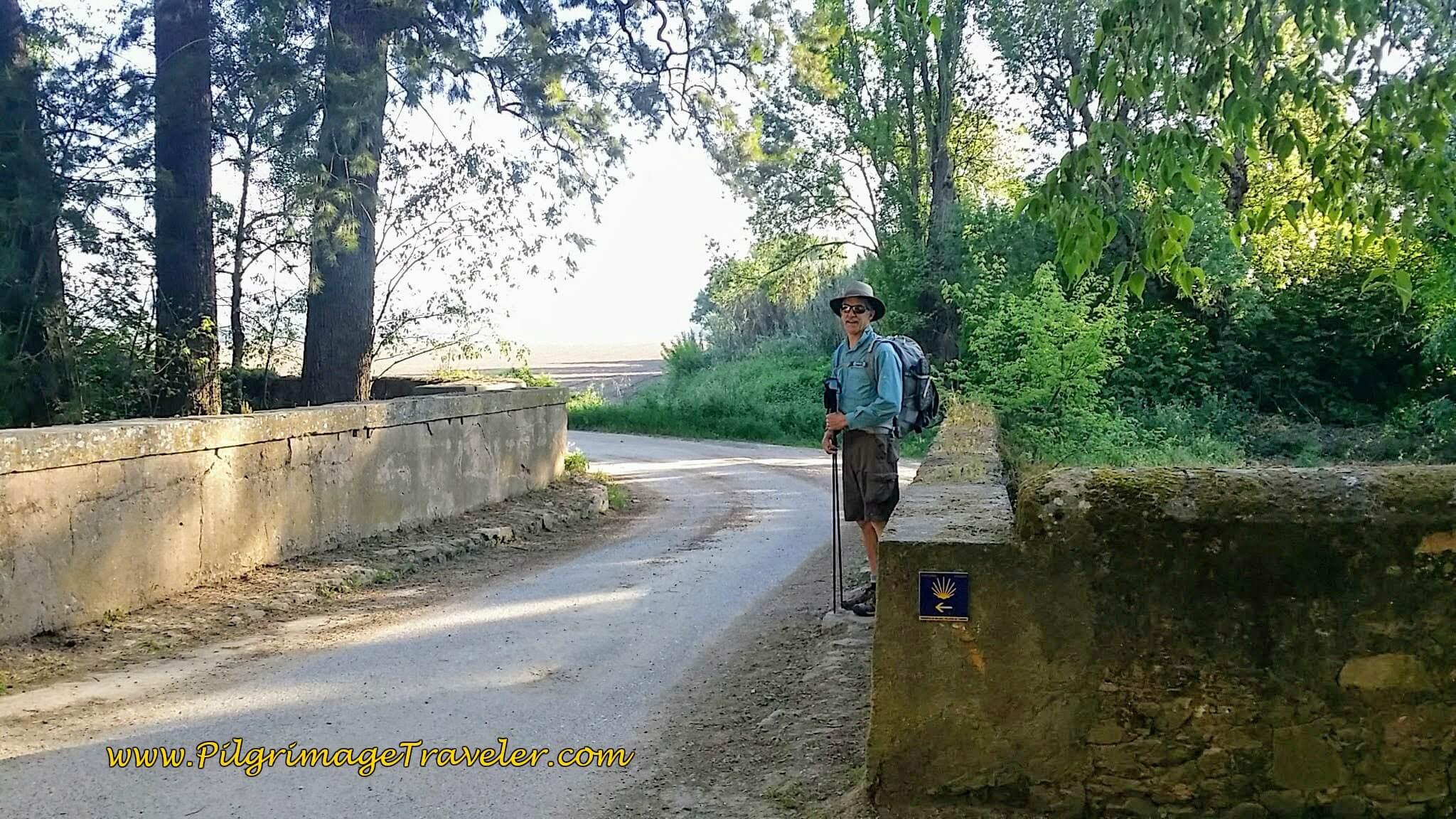Leaving the Quinta da Cardiga and Re-entering the Sunny Portuguese Countryside
