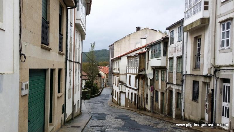 Rúa do Carme de Abaixo, Santiago de Compostela, Galicia, Spain