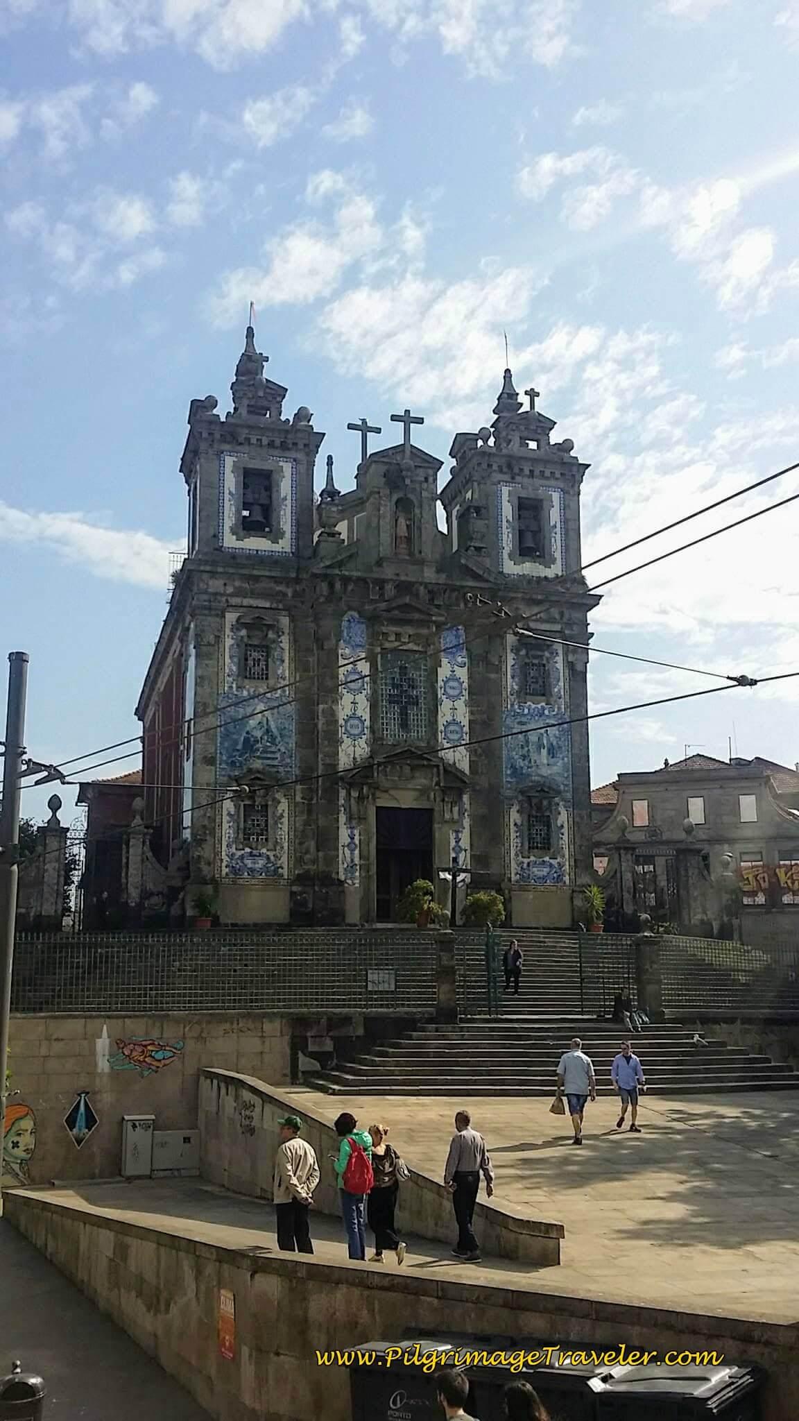 Igreja Paroquial de Santo Ildefonso in Porto, Portugal
