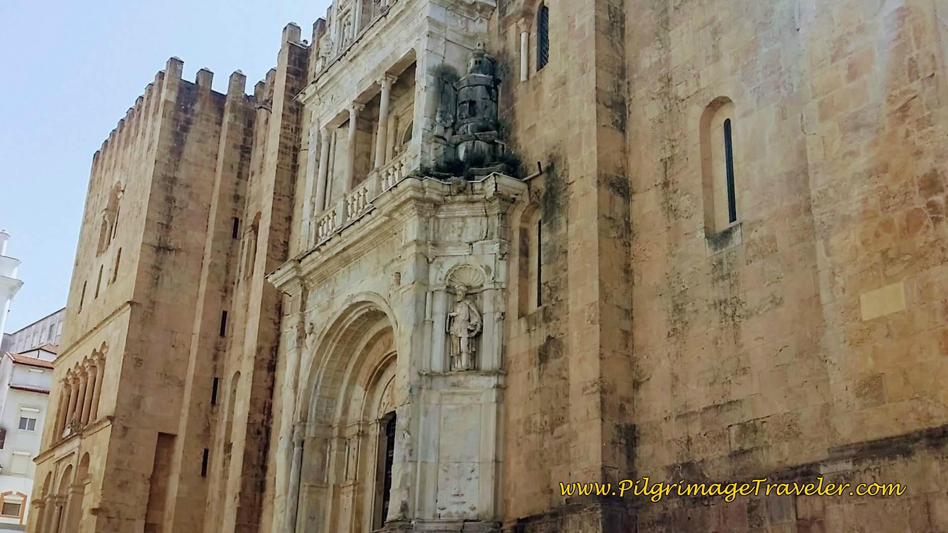 Sé Velha ~ Coimbra, Northern Façade and Porta Especiosa