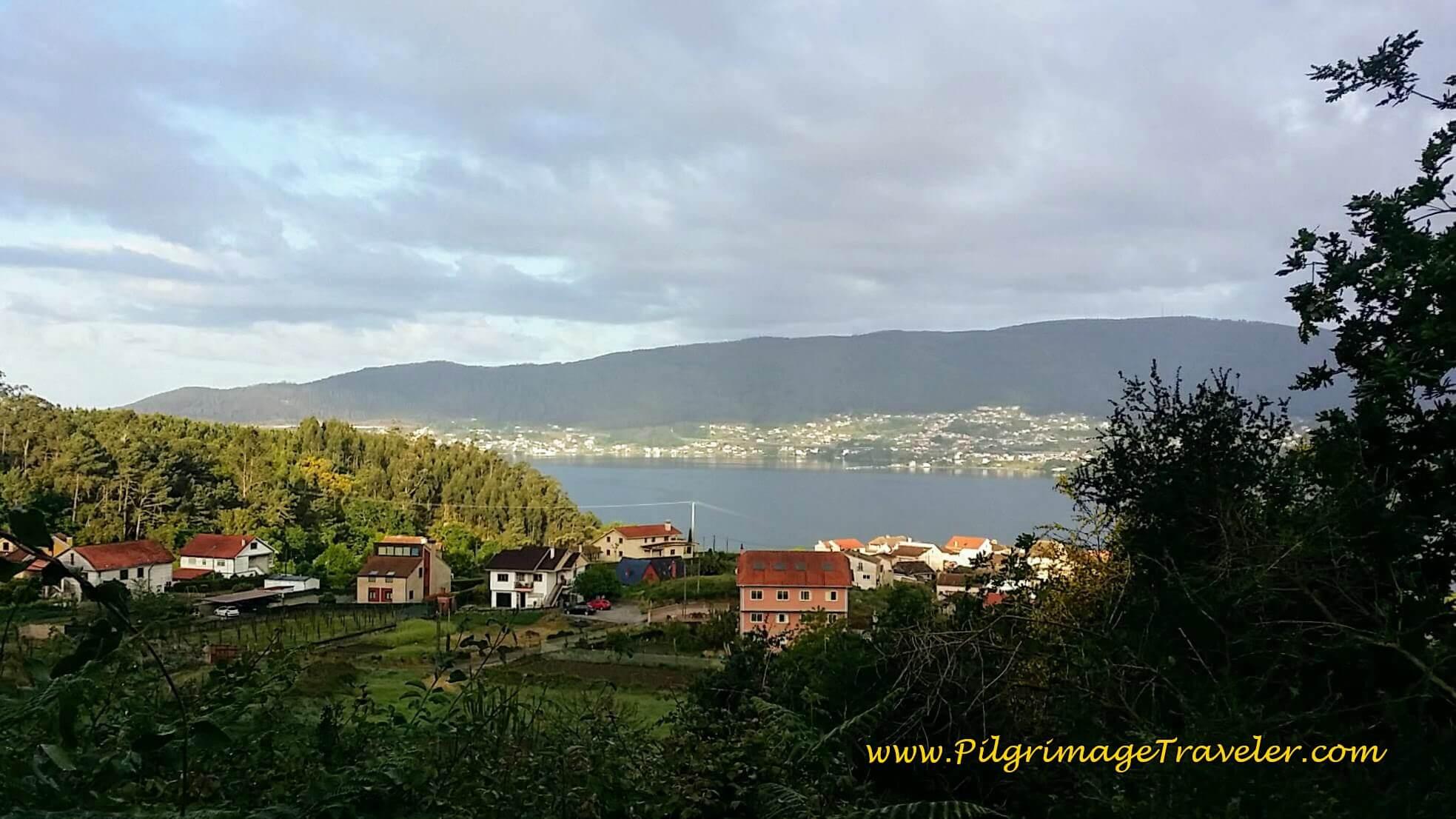 Last View of the Ría de Vigo, day twenty-two on the Camino Portugués