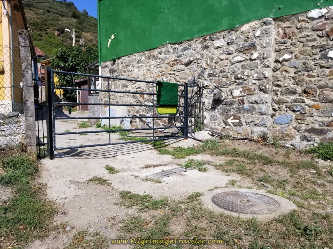 Gate Entering Llanos de Somerón