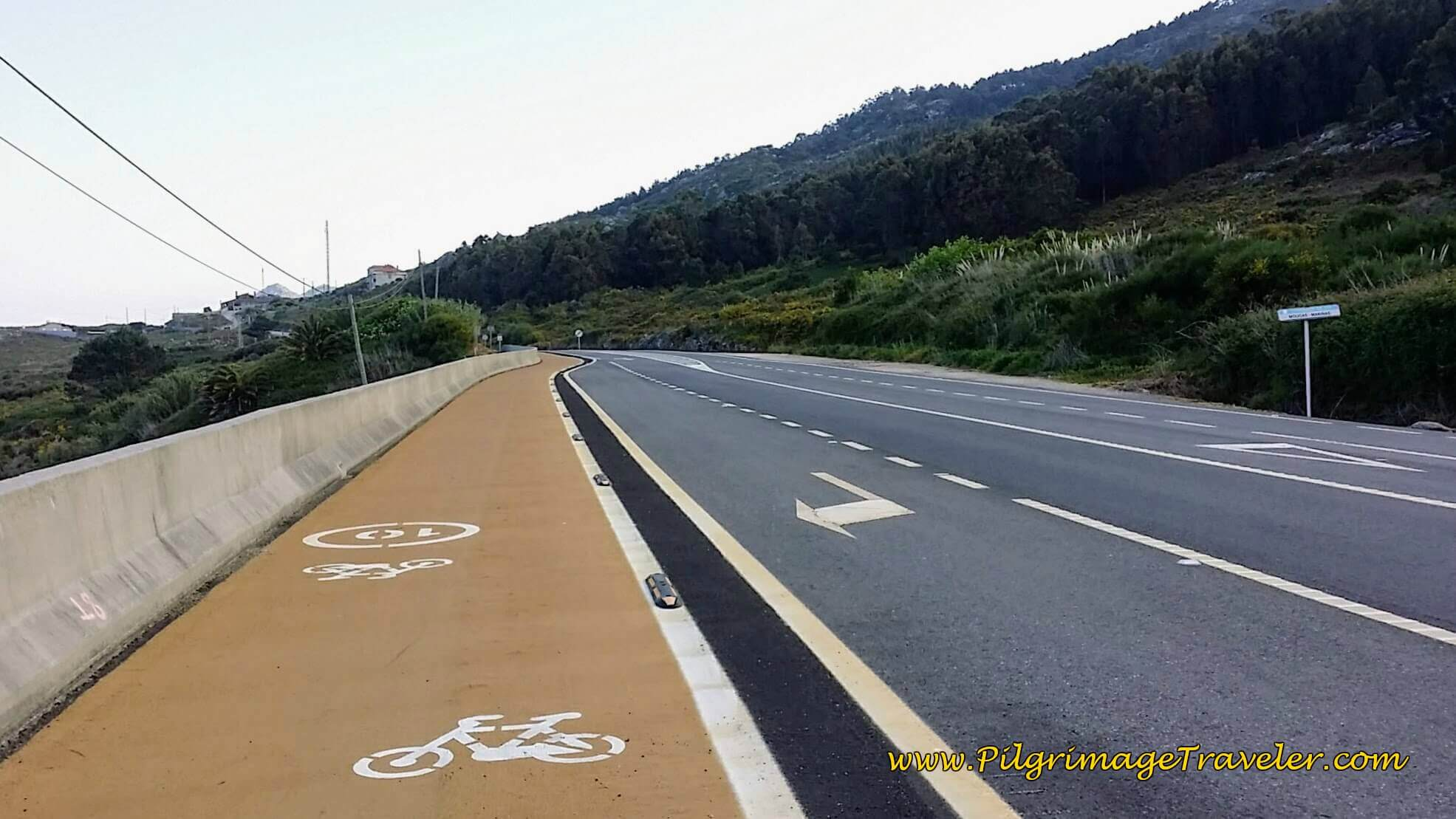 Join the PO-552 and the Bike Lane on day twenty of the Portuguese Way, Coastal Route