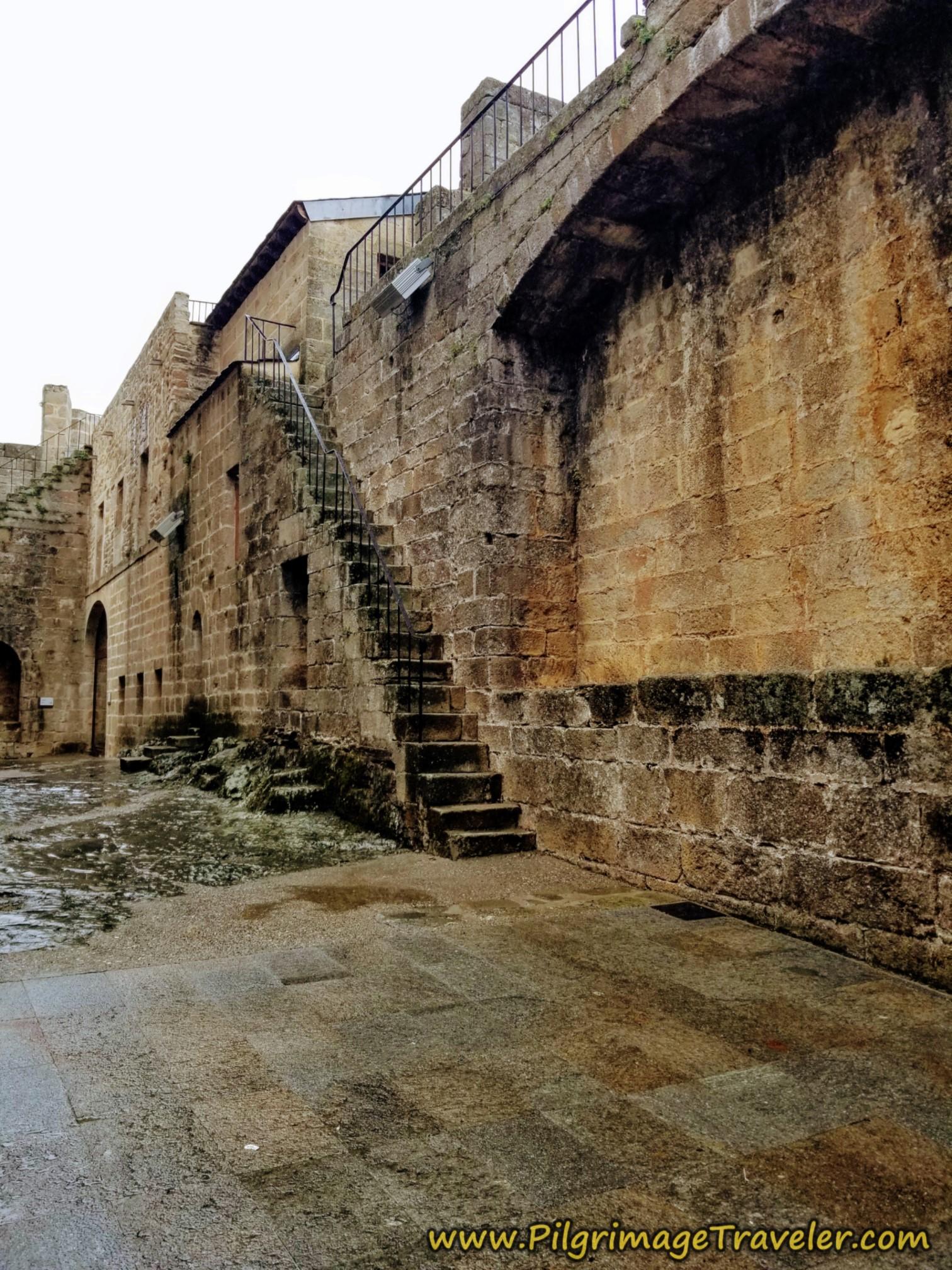 Stairway to Outer Rampart Walls, Castillo de Puebla de Sanabria