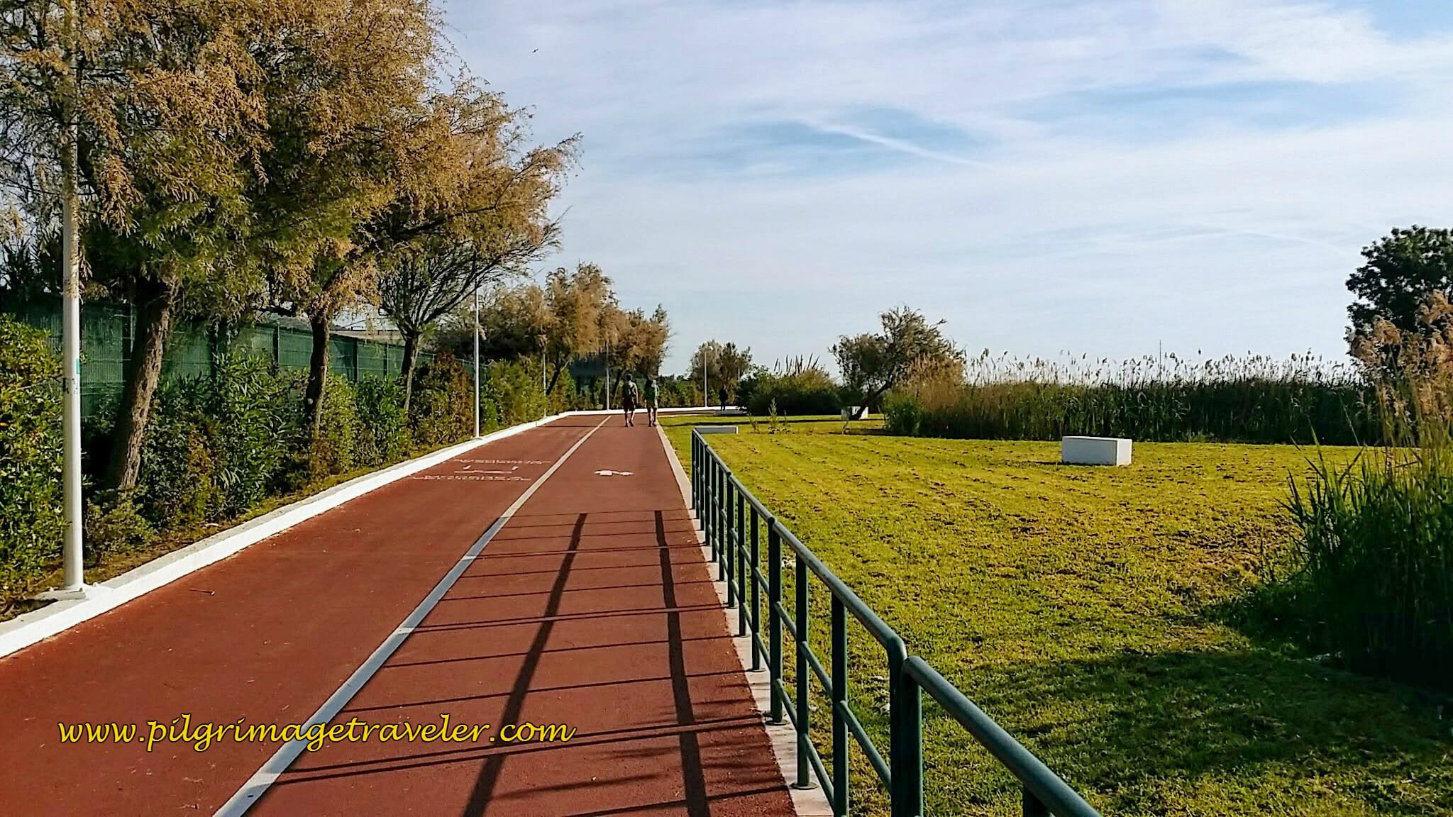 Caminho Pedronal Ribeirinho, 2-way Walking/Jogging Track Along the Tejo