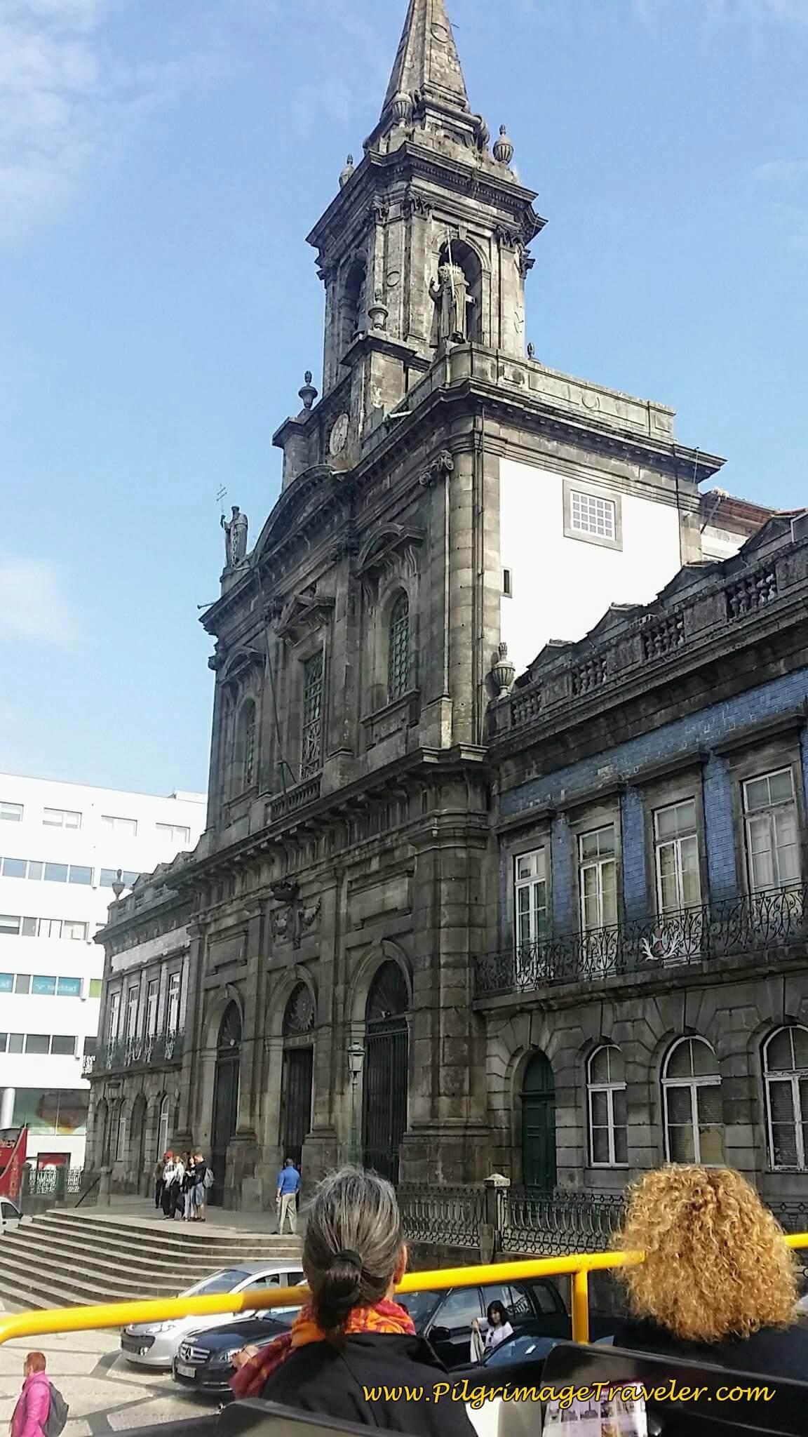 Igreja da Santissima Trinidade in Porto, Portugal