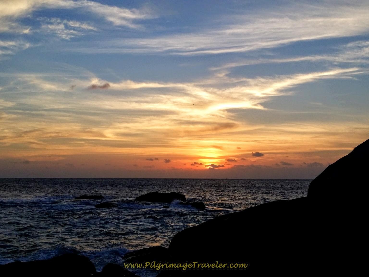 Incredible Muxía Costa da Morte Sunset