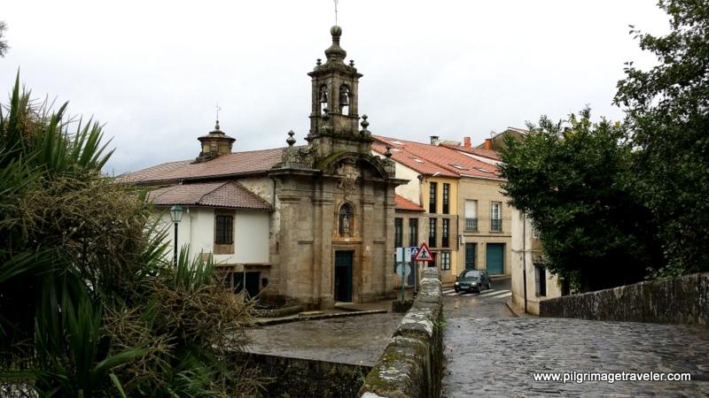 Capilla del Carmen on the Rúa do Carme de Abaixo, Santiago de Compostela, Galicia, Spain