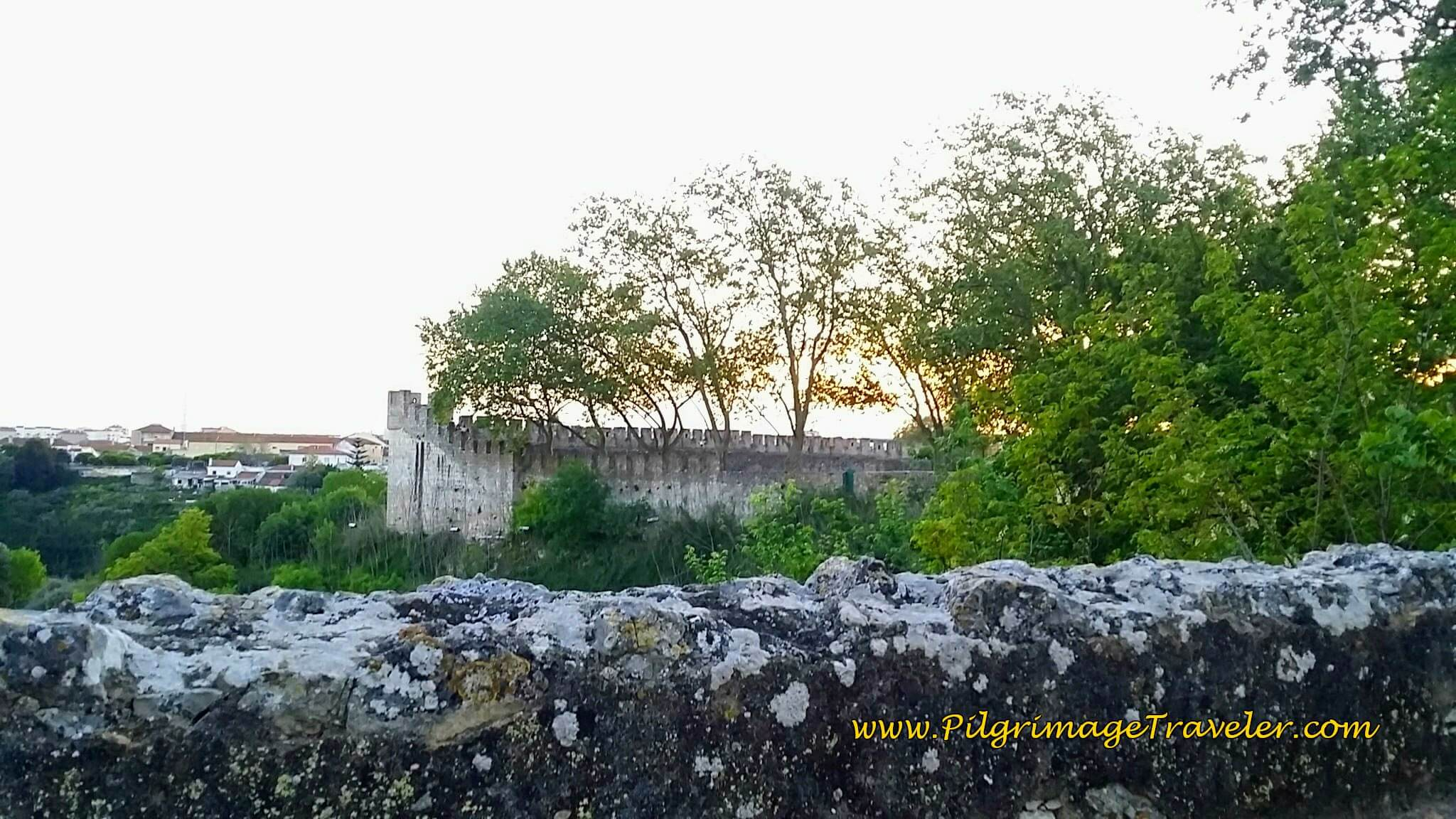 The Old Walls of Santarém, Portugal