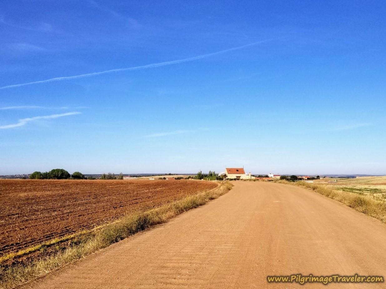 Open Dirt Road Westward