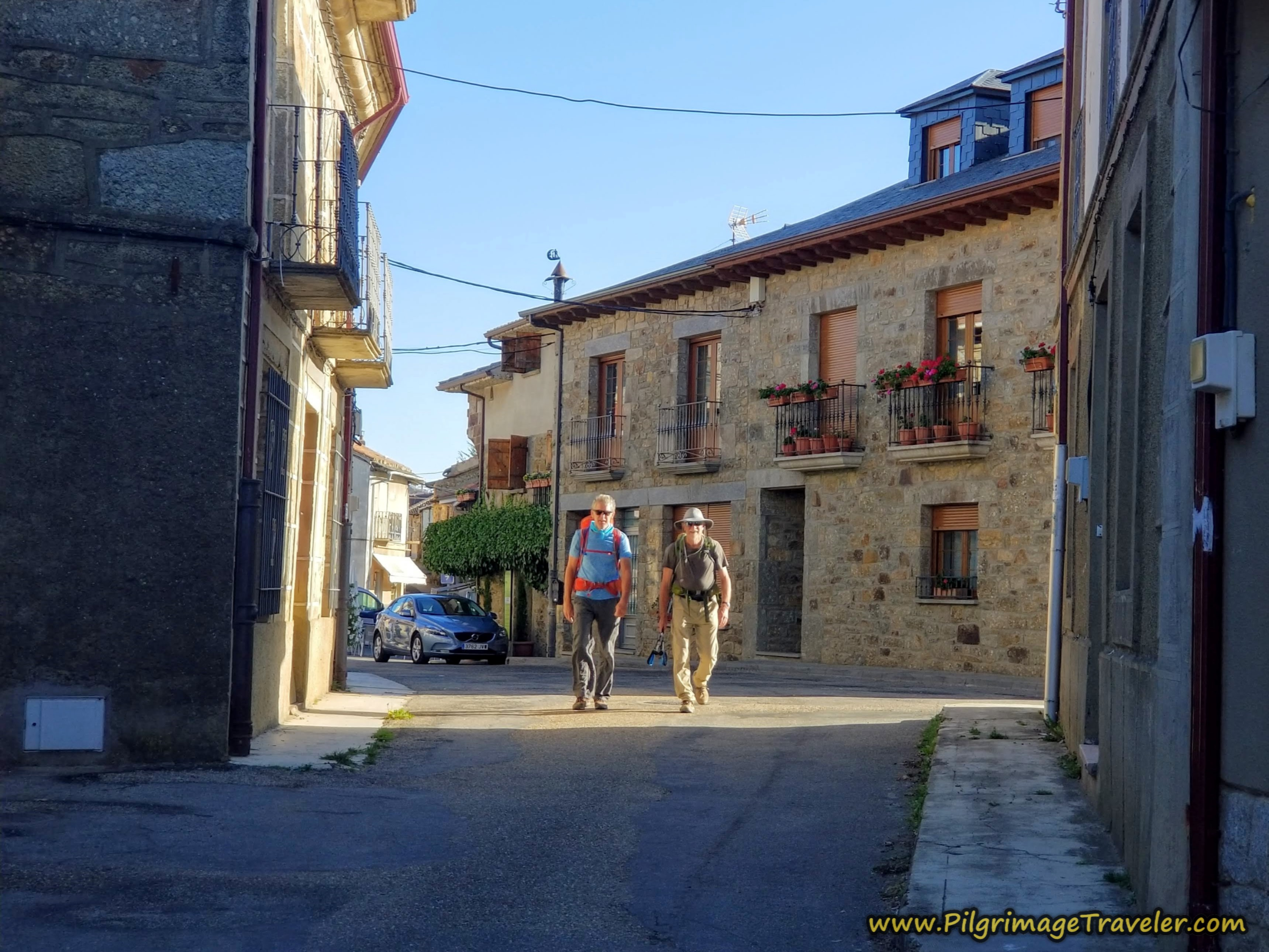Quaint Mombuey Streets on the Camino Sanabrés from Rionegro del Puente to Entrepeñas