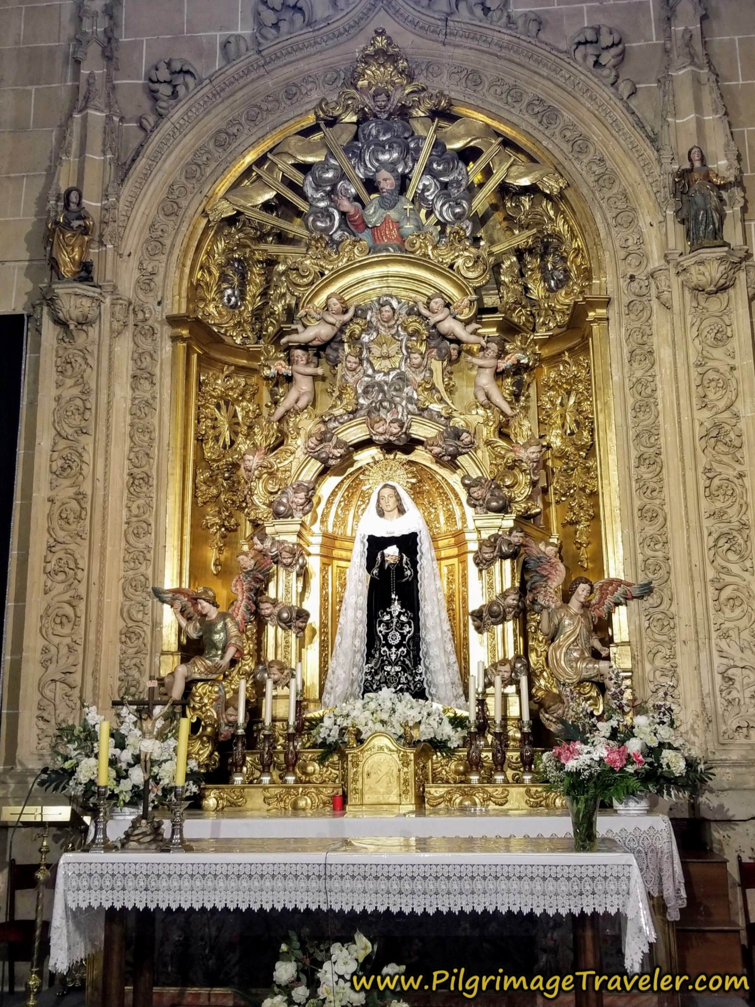 Chapel to Nuestra Señora de la Soledad, Cathedral of Salamanca
