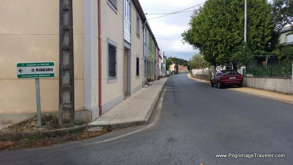 O Mascaño, Suburb of Melide, Spain