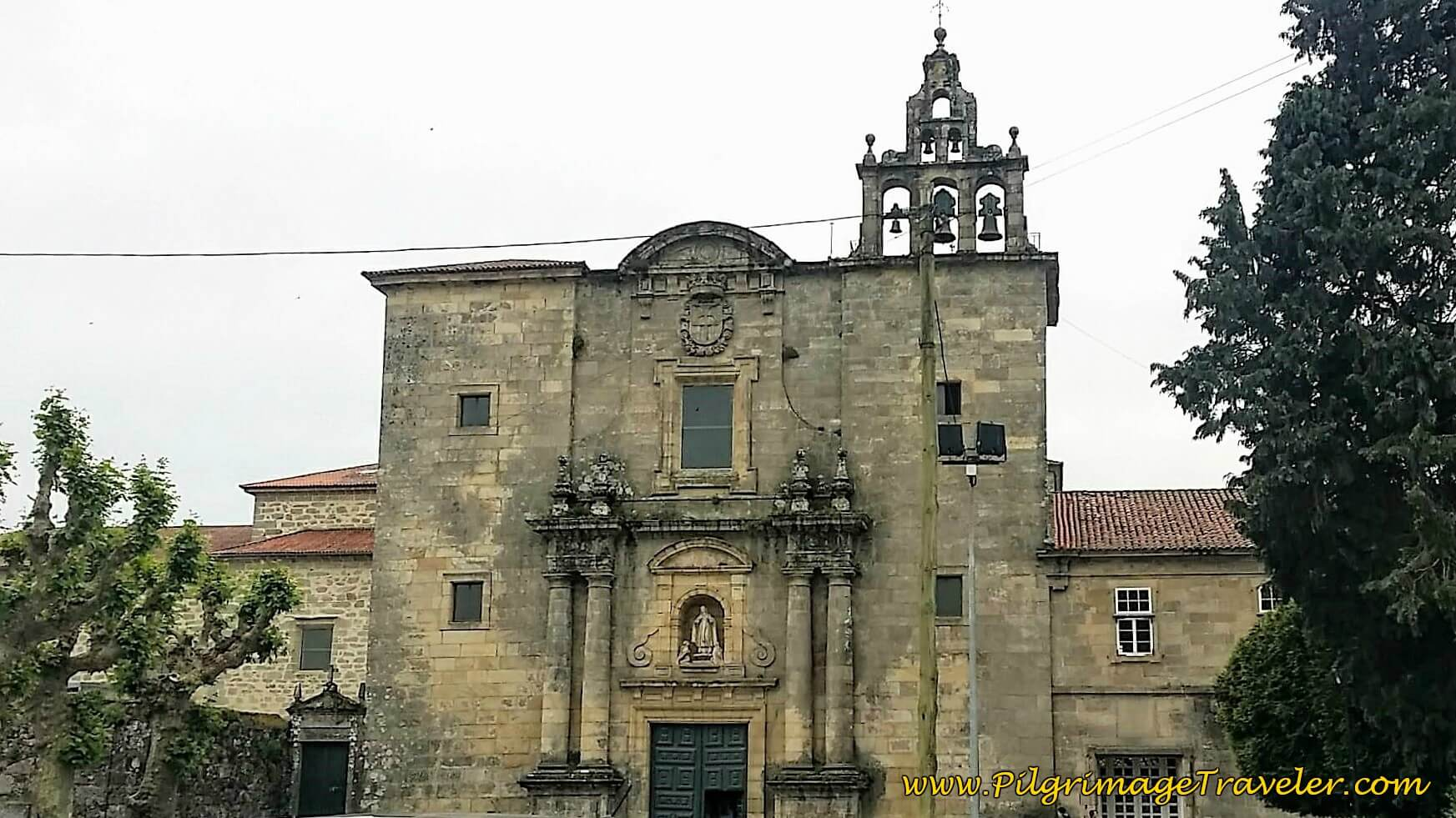 Nuestra Señora De La Merced De Conxo on day twenty-five of the Portuguese Way