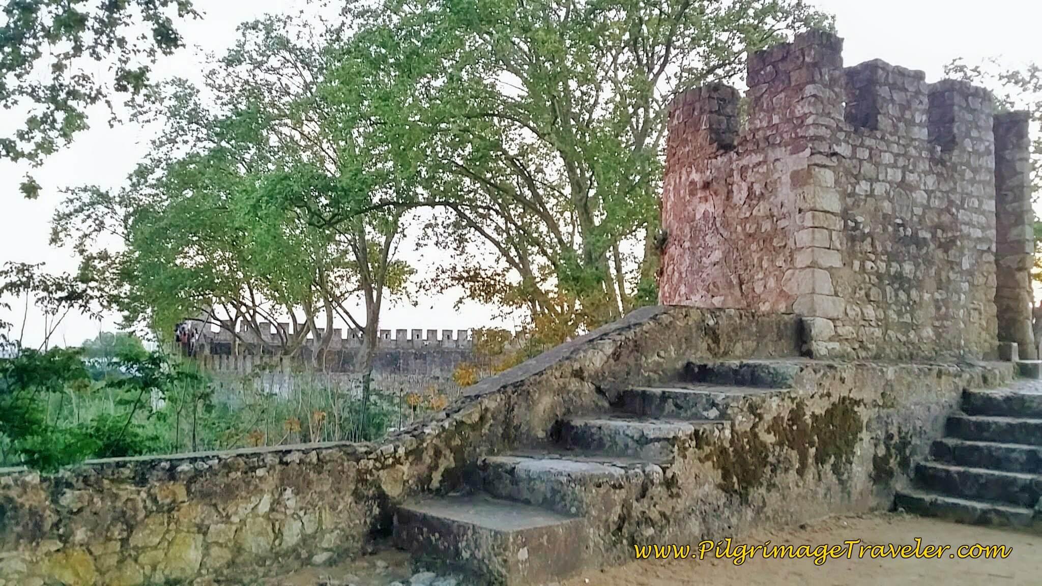 More Remnants of the Citadel in the Portas do Sol, Santarém, Portugal
