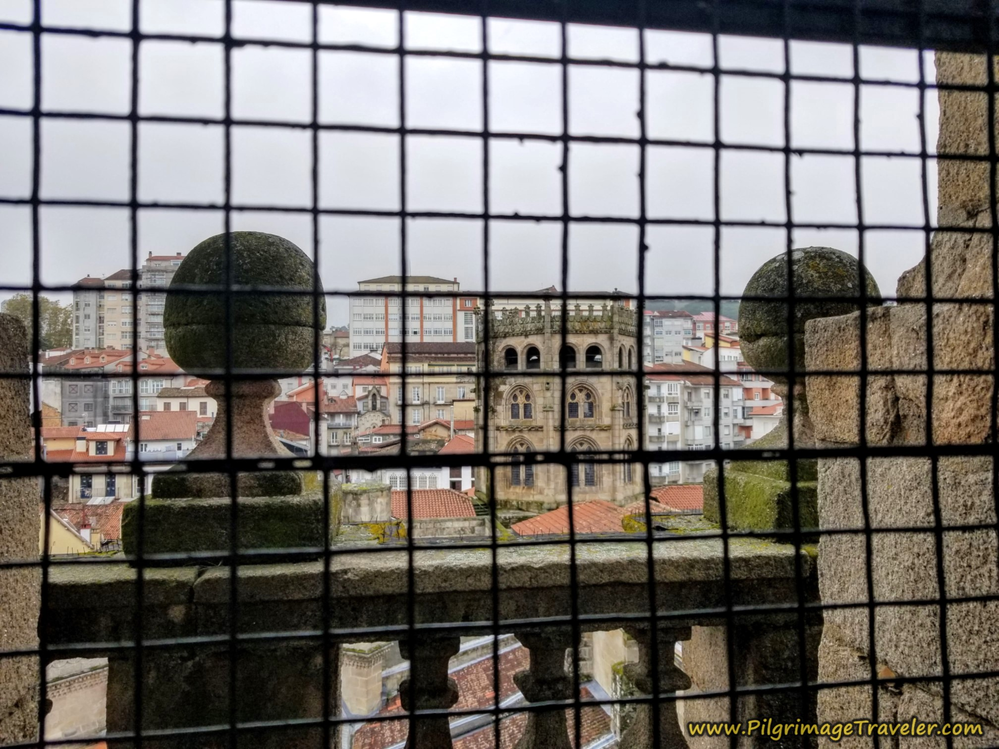 View from the Ourense Cathedral Belltower