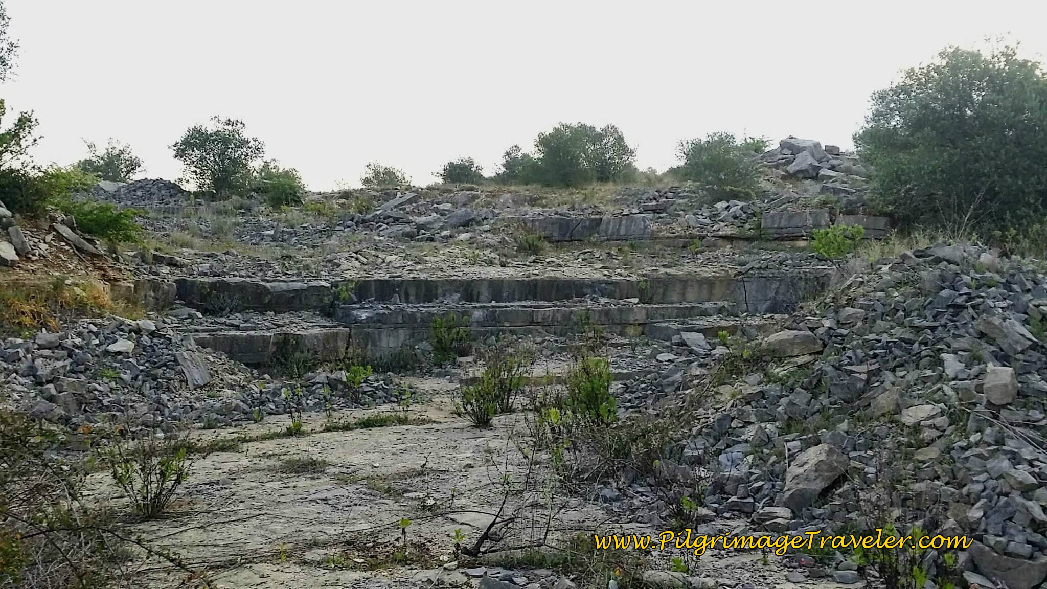 Ruined Building Foundation