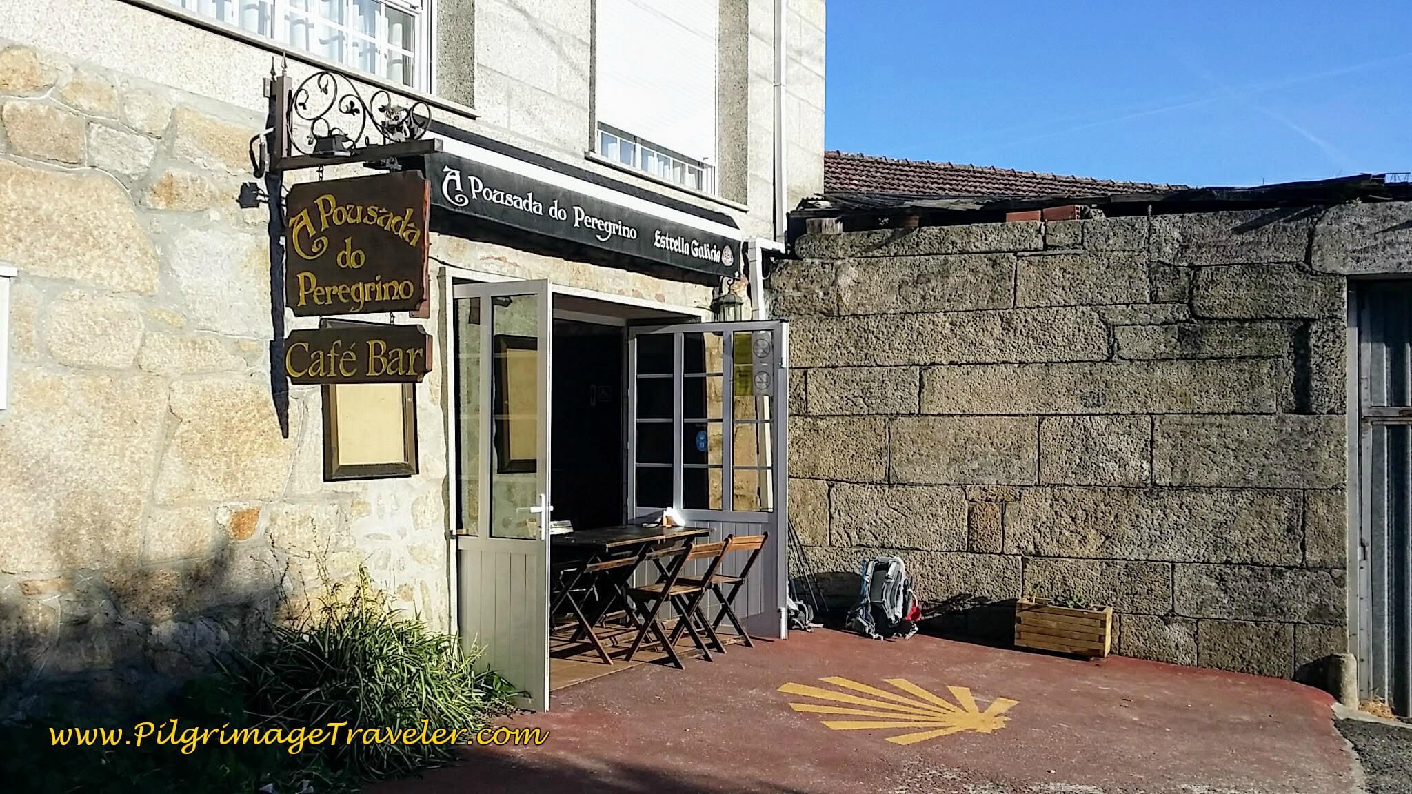 Café Bar A Pousada do Peregrino on day twenty-three, Camino Portugués