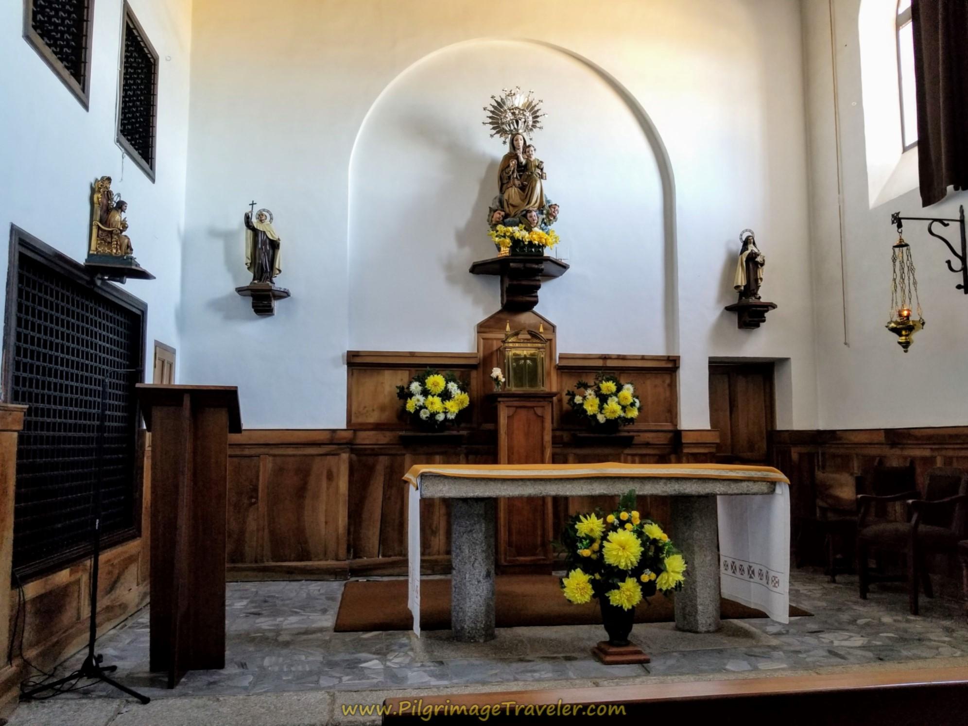 Convento de Duruelo Capilla Interior